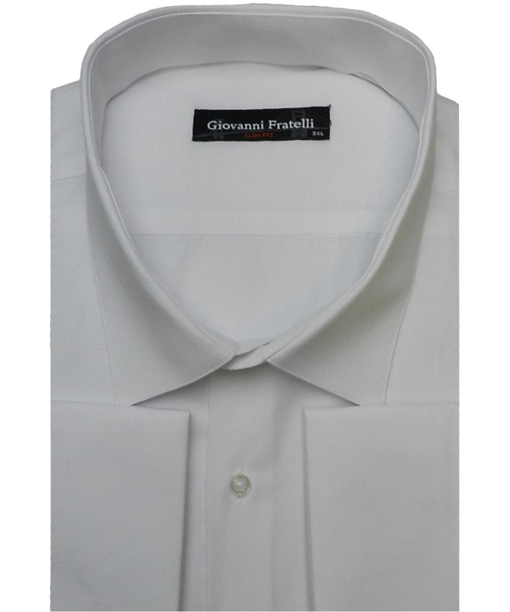 Рубашка мужская ботал Giovanni Fratelli GF-909 белая
