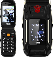 "Land Rover X10 Transformers, 4800 мАч, 2 SIM, дисплей 2.8"". Противоударный телефон-раскладушка!"