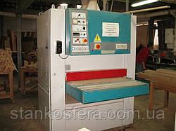 Калибровально-шлифовальный станок бу Griggio G950 (Италия) 2х агрегатный, ширина 950 мм