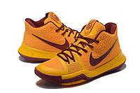Баскетбольные кроссовки Nike Kyrie 3 yellow