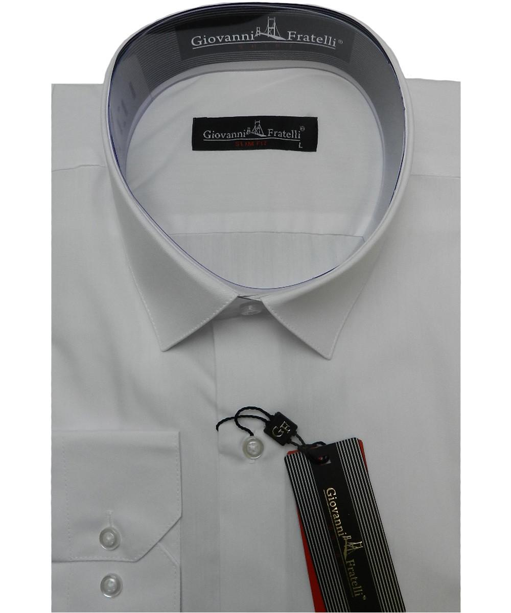 Рубашка мужская Giovanni Fratelli 0408 CR 44 белая