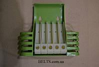 Полка органайзер для ванных принадлежностей (ящик в ванную) Toothbrush box