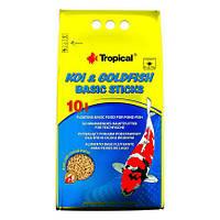 Tropical KOI & GoldFish Basic Sticks 50л/4кг-корм для прудовых рыб (40372)