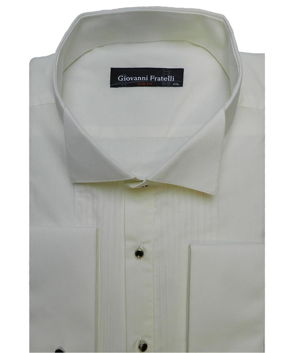 Рубашка мужская Giovanni Fratelli GF-911 под бабочку шампань