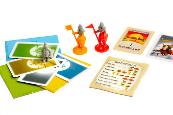 Настольная игра Колонизаторы. Города и рыцари, фото 2