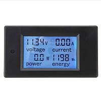 Цифровой мультиметр постоянного тока, ваттметр электронный 20А