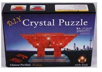 Пазлы 3D- кристалл 29012 Арка,20дет,батар., свет.,в коробке 18*14*4см ( Ч )