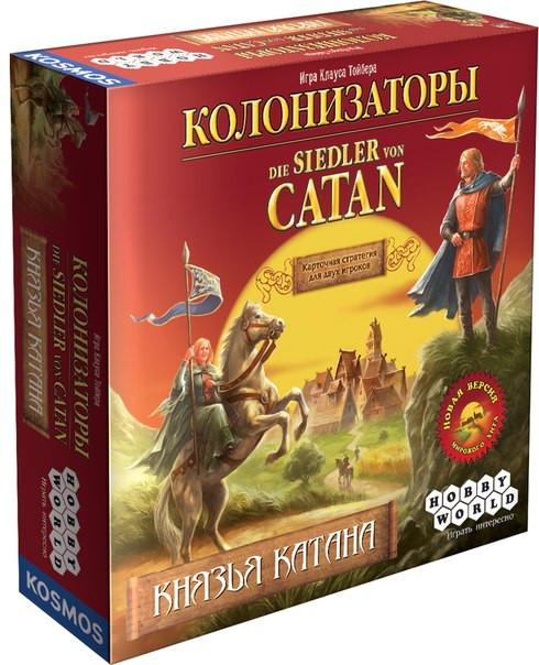Настольная игра Колонизаторы. Князья Катана