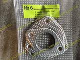 Ремкомплект №006 прокладки выпускной системы глушителя Ланос Lanos 1.5 (4шт), фото 5