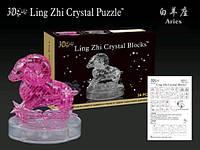 Пазлы 3D- кристалл Зодиак овен 9051 45 дет., в кор. 18*13*7см ( Ч )