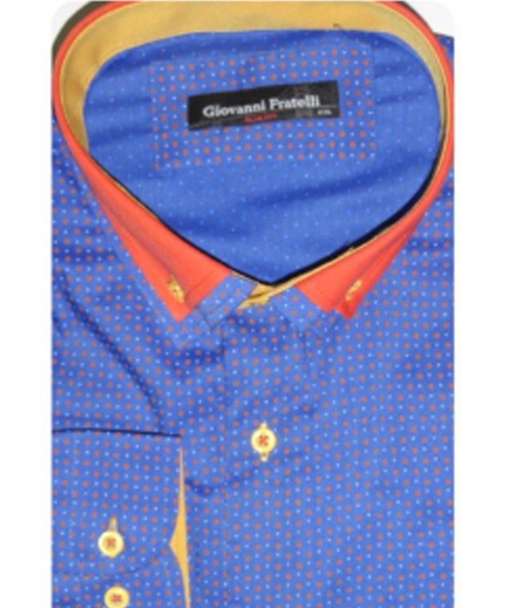 Рубашка мужская Giovanni Fratelli 8014CR44