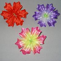 Цветок Мальва резная искусственная Цена за уп-100 шт