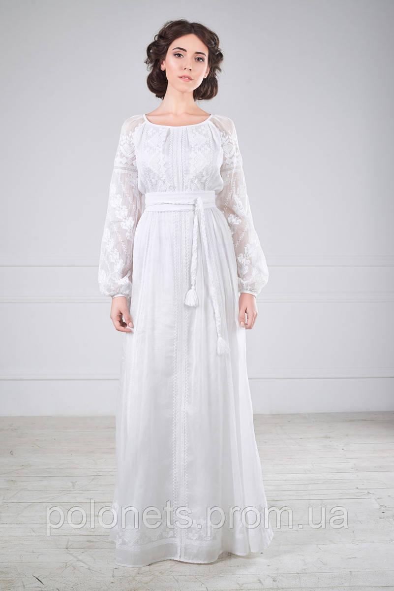 Сукня весільна вишита - Дизайн-студія Оксани Полонець в Киеве 34b8f3295b5a4