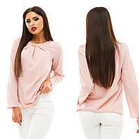 Блуза с длинным рукавом, размер 42,44,46,48  код 813А, фото 1