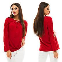 Блузка з довгим рукавом, розмір 42,44,46,48 код 813А, фото 3