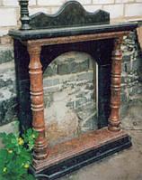 Портал каминный из гранита