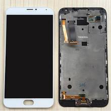 Дисплей для Meizu MX5 черный с тачскрином