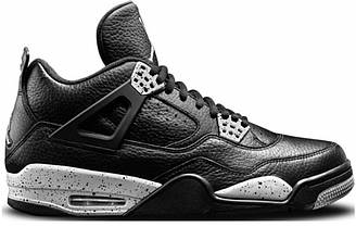 Кроссовки Air Jordan IV Black Leather