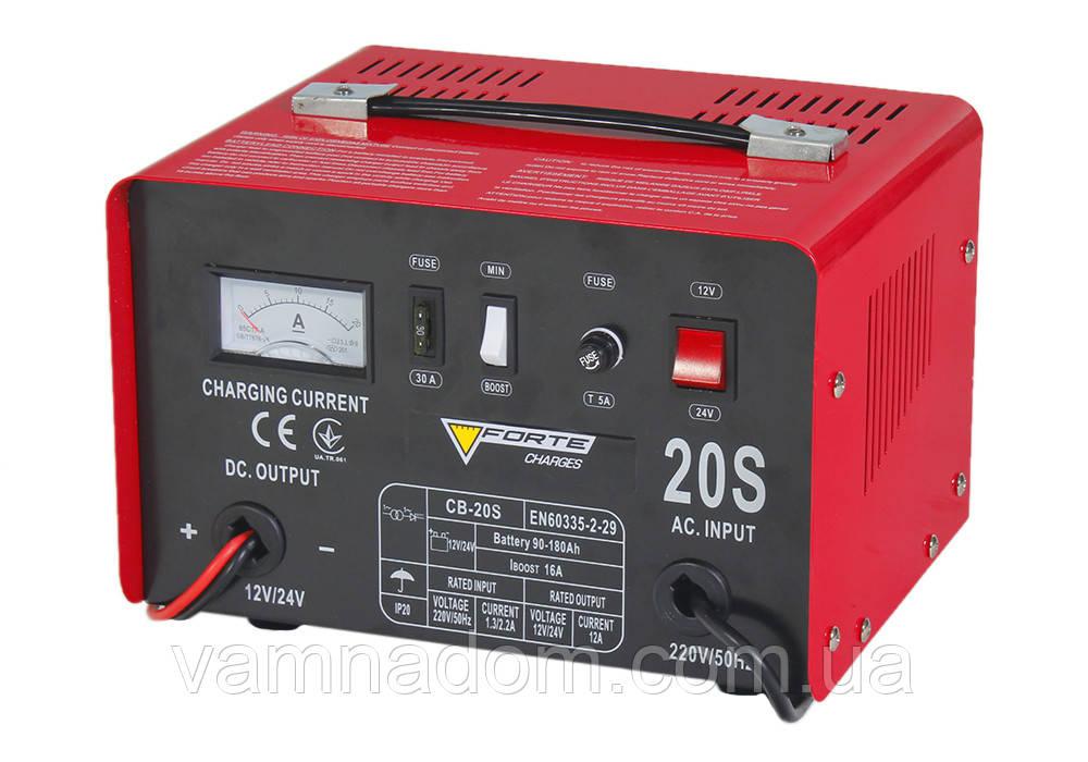 Зарядное устройство Forte CB-20S