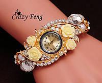 Наручные часы c австрийскими кристаллами