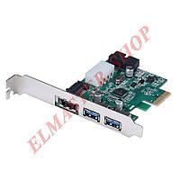 PCI-E - USB 3.0 расширительный контроллер, переходник с SATA интерфейсом