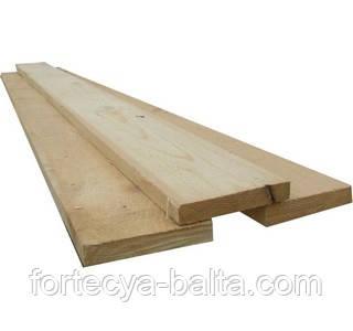 Доска обрезная 2 сорт 25*160 мм, 4м строительная, сосна