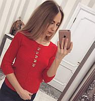 Красная женская кофта 134
