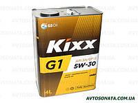 Масло моторное синтетика KIXX G1 5W-30 4л SN/GF-5, фото 1
