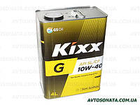 Масло моторное п/синтетика KIXX Gold 10W-40 4л SL/CF, фото 1