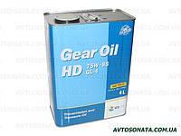 Масло редукторное KIXX Gear Oil HD 75W-85 4л GL-4, фото 1