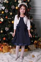 Милое платье для девочки с болеро