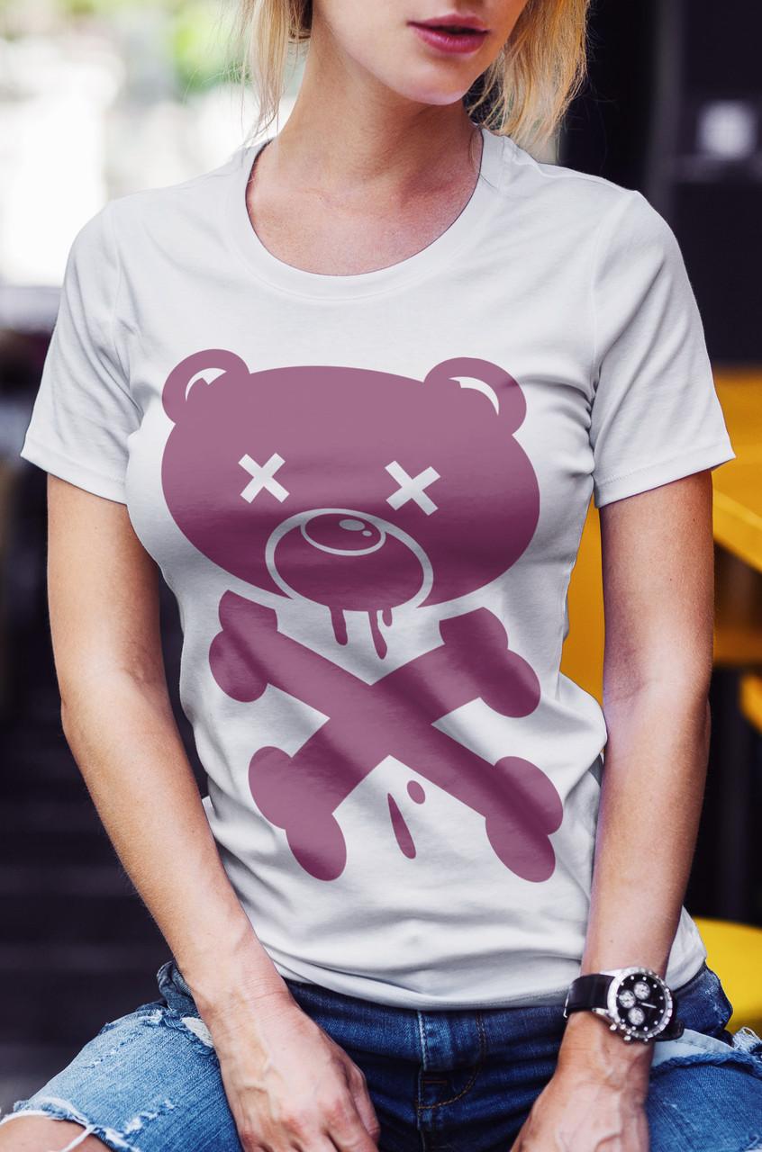 """Женская футболка """"Dead мишка"""""""