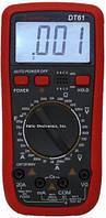Мультиметр цифровий Тестер DT VС61