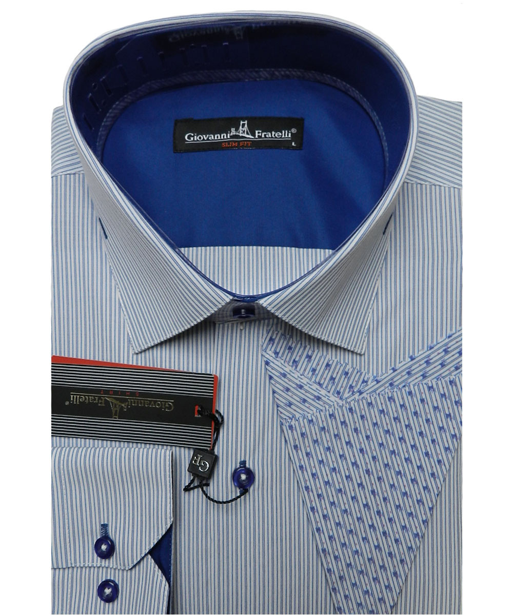 3ef82e4e1700 Рубашка Мужская Giovanni Fratelli 0477 CR — в Категории