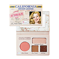 The Balm Mini Palettes AutiBalm California - Палетка для макияжа, 4.15 г