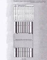 Фрезы для изготовления  финского стенового бруса