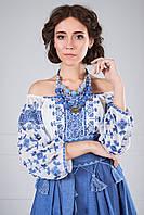 Стильна блуза-вишиванка, фото 1