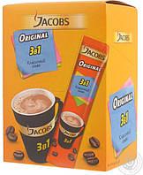 Кофе в пакетиках Jacobs 3в1 Original 12г 24шт.