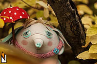 Іграшки, які викликають посмішку... Незвичайні друзі від Nyoma.