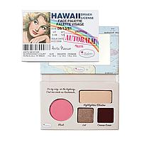 The Balm Mini Palettes AutiBalm Hawaii - Палетка для макияжа, 4.15 г
