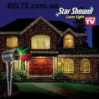 Зоряний лазерний проектор Star Shower Laser Light (новорічна гірлянда на будинок, міні лазер Стар Шовер)