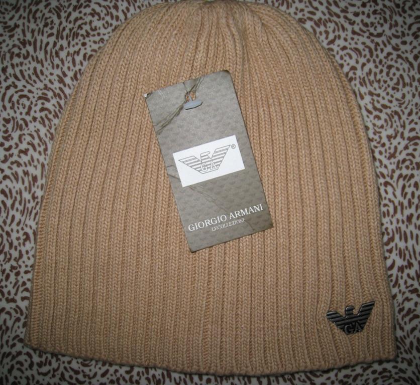Разные цвета ARMANI шапки вязаные для взрослых и подростков шапка хлопок армани