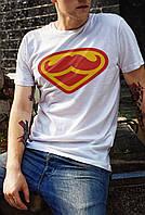 "Мужская футболка ""Super hipster"""
