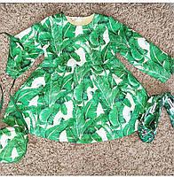 Платье для девочек утепленное нарядное в стиле Дольче Габбана