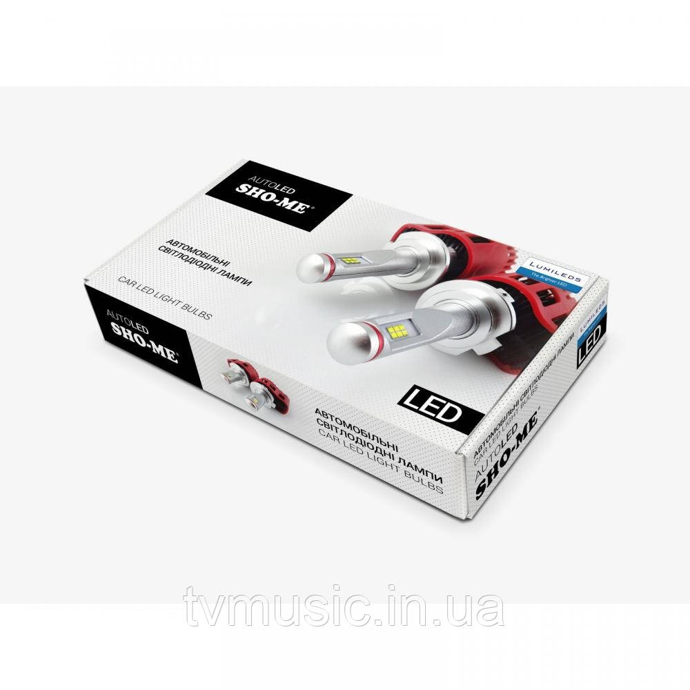 LED лампы Sho Me G6.1 H4 6000K 25W