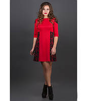 Платье Оника р.44-52 красный