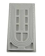 Доска планшет для сборки бус браслетов 49х26.5 см 3 ряда