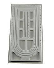 Дошка планшет для складання намиста, браслетів 49х26.5 см 3 ряди
