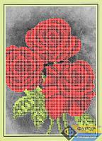 Схема для вышивки бисером - Три розы, Арт. ДБч5-042