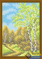 Схема для вышивки бисером - Березовая роща, Арт. ДБп5-046